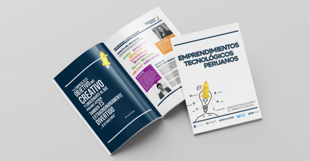 Publicación Emprendimientos Tecnológicos Peruanos incluye la experiencia de Hub UDEP